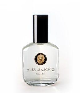 bottle of alfa maschio cologne