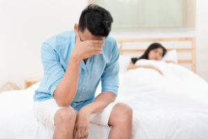 man discouraged due to low libido